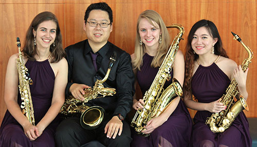 Farrago 4 Saxophone Quartet